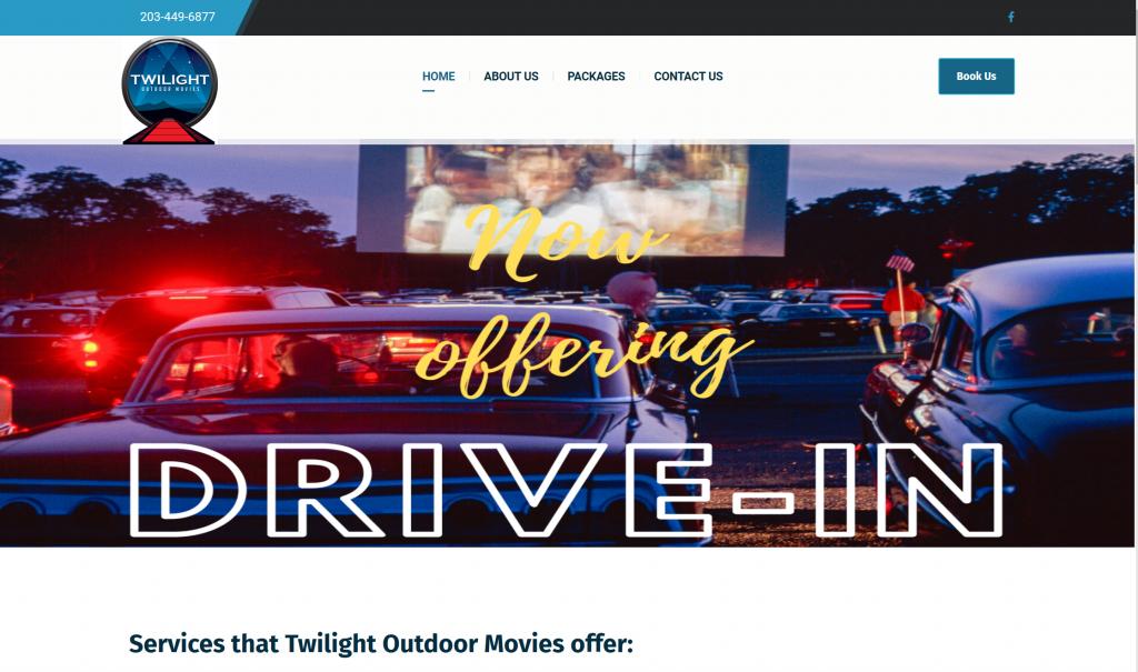 Twilight Outdoor Movies CT